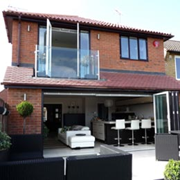 extension external 01 carvers croft woolmer green hertfordshire completed external - Home Extension Designs
