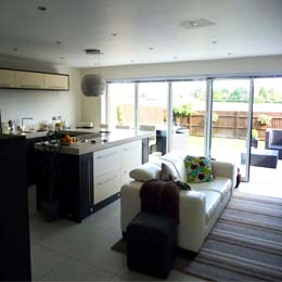 Carvers Croft, Welwyn Garden City Hertfordshire Two Storey Extension - Completed Internal