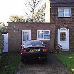Beehive Green, Welwyn Garden City, Hertfordshire Garage Conversion - Completed