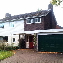 Greenfields, Hatfield, Hertfordshire - Existing Two Storey Extension