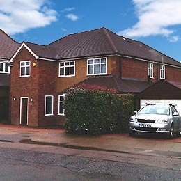 Lancaster Road, St Albans, Hertfordshire Completed Two Storey Home Extension External 01