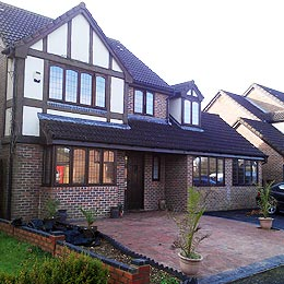 Home extension designs garage conversion in mendlesham for Home extension design welwyn garden city