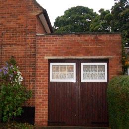 Ravenfield Road, Welwyn Garden City, Hertfordshire Garage Conversion - Existing