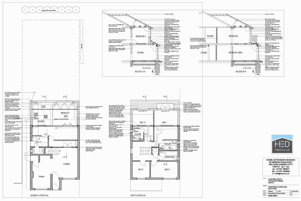 Home extension designs two storey extensions archives for House extension drawings